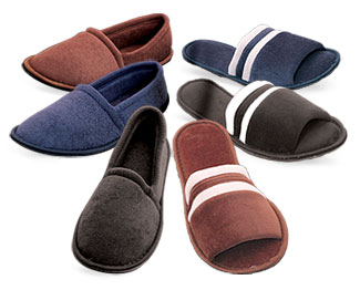 Mens Slippers, Washable Slippers for Men